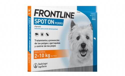 Frontline spot on perr 2/10 k 3 pip