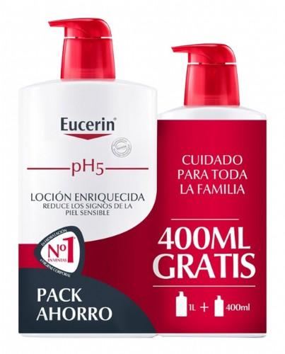Ph5 eucerin locion enriq 1000ml+400ml