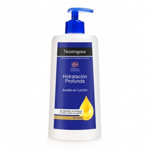 Neutrogena hidratación profunda aceite en loción corporal 400 ml