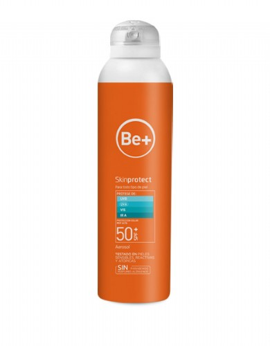 Be+ skin protect aerosol corporal spf50+ (200 ml)