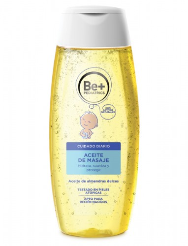 Be+ pediátrico aceite de masaje 200 ml