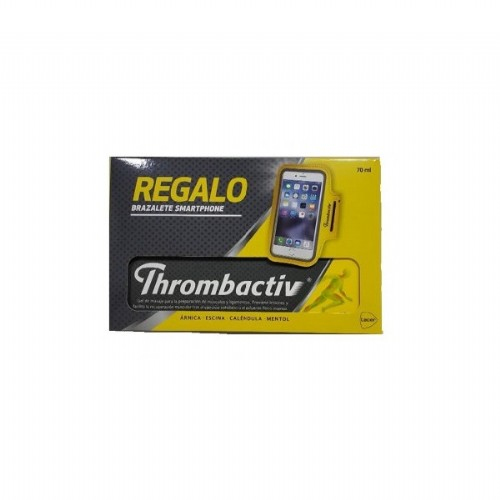 Thrombactiv gel 70 ml  + Regalo Brazalete Smarphone