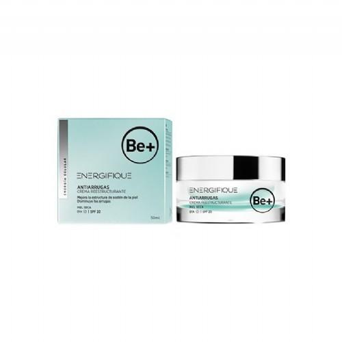 Be+ energifique antiarrugas crema hidratante - reestructurante piel seca spf20 (50 ml)