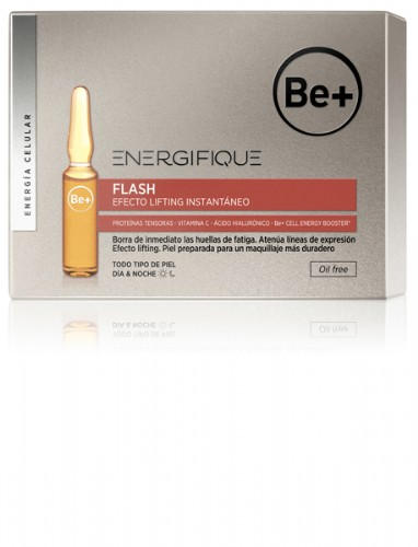 Be+ energifique ampollas efecto flash (5 u x 2 ml)