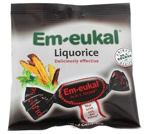 Caramelos balsamico em-eukal (regaliz 50 g)
