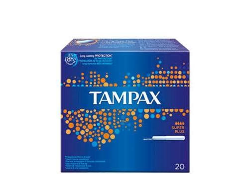 Tampones tampax sup plus 20u