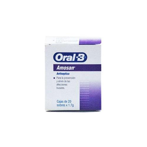 Oral-b amosan (20 sobres de 2 g)