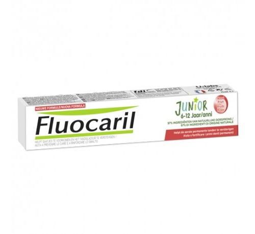 Fluocaril junior 6-12 años (75 ml frutos rojos)