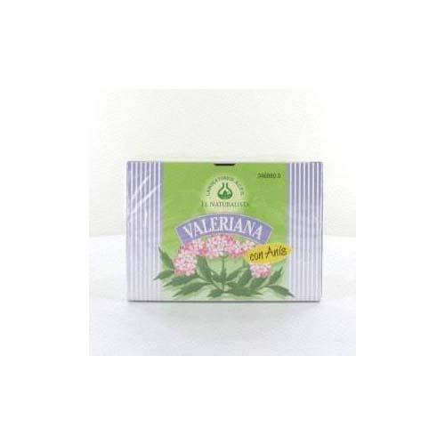 Valeriana con anis el naturalista (1.6 g 20 filtros)
