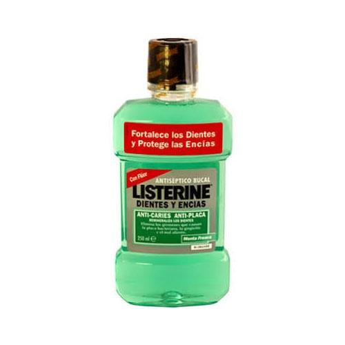 Listerine dientes y encias