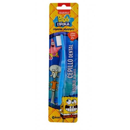 Cepillo dental infantil - kin inicio (bob esponja)