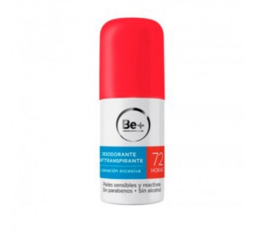 Be+ desodorante antitranspirante 72 h (50 ml)