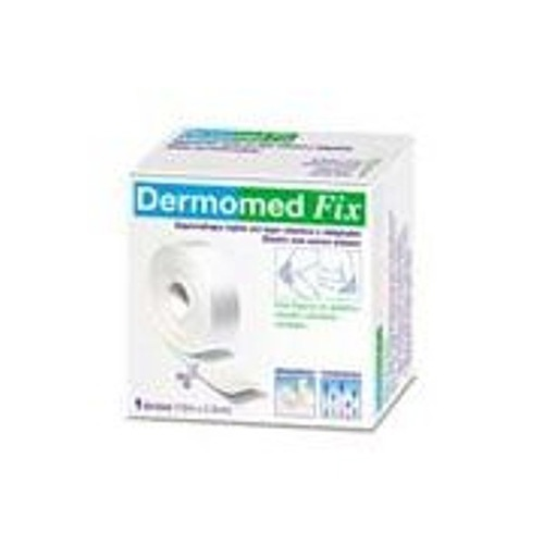 Esparadrapo hipoalergico - dermomed fix tejido sin tejer elastico (10 x 2.5 cm)