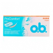 Tampones procomfort - o.b. (super 16 tampones)