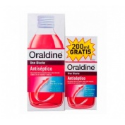 Oraldine antiseptico (pack 400 ml +200 ml)