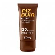 Piz buin allergy fps - 30 proteccion alta - crema facial (50 ml)