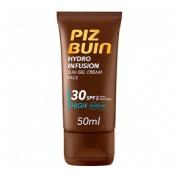 Piz buin hydro infusion crema solar facial en gel spf 30 - proteccion alta (50 ml)