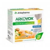 Arkovox dolor de garganta miel-limon (20 comprimidos para chupar)