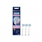 Cepillo dental electrico recargable - oral-b sensi ultrathin (recambio 3 u)