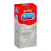 Durex sensitivo ultra fino - preservativos (12 preservativos)