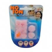 Tapones oidos cera algodon - noton (10 u cajita de 2 + cajita de 8)
