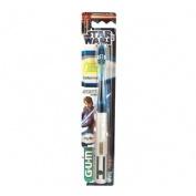 Cepillo dental infantil - gum 4030 (star wars espada laser)