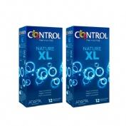 Control nature xl - preservativos (pack ahorro 12 + 12 u)