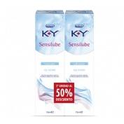 K-y gel - lubricante hidrosoluble intimo (75 ml 2 unidades)