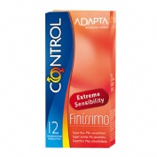 Pack control finissimo + lubricante nature - preservativos (kit 12 u)