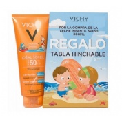 Pack de Capital soleil spf 50+ niños leche (300 ml) + (300 ml)