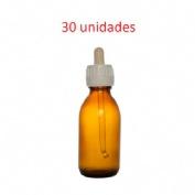 Cuentagotas frasco - jm (30 ml topacio 30 u)
