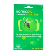Normopic calmante parches - repelente de mosquitos (24 parches)