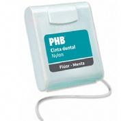 Phb fluor y menta - cinta dental nylon con cera (50 m)