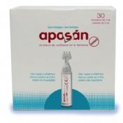 Aposan suero fisiologico (monodosis 5 ml 30 u)