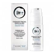 Be+ facial gel hidratante confort total - cuidado masculino (50 ml)
