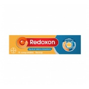 Redoxon extra defensas vitamina c + zinc (naranja 15 comp ef)