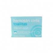 Hemosan cinfa toallitas (12 toallitas)