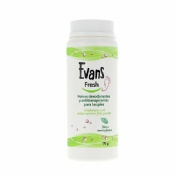 Evans fresh polvos pedicos (75 g)