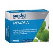Sandoz bienestar memoria (30 capsulas)