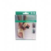 Corrector doble juanetes y plantar - farmalastic gel de silicona (pie izdo t- peq)