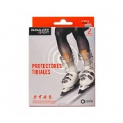 Aposito protectores tibiales - farmalastic sport (2 u 7 cm x 9.5 cm)