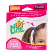 No-lice gomas para el cabello aromaterapia (4 gomas rb)