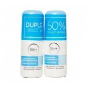 Be+ desodorante antitranspirante 48 h (duplo 50 ml 2 u)