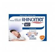 Rhinomer by breathe right - tira adh nasal (clasicas 30 u)