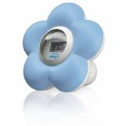 Termometro de habitacion y baño - avent philips (azul sch 550/20)