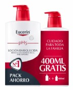Ph5 eucerin locion enriq 1000ml+400ml