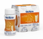 MERITENE DRINK (125 ML 4 BOTELLAS VAINILLA)
