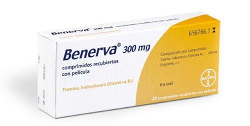 (b) benerva 300 mg 20 comprimidos