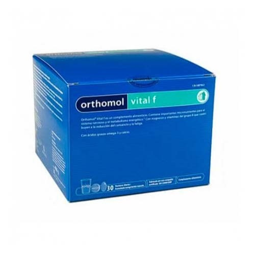 Orthomol vital f (granulado 30 raciones)