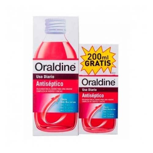 Oraldine antiseptico (pack 400 ml +200 ml)